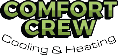 comfort crew cooling & heating logo